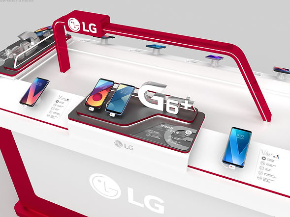 LG Mobile In-Store Display | Paradise Design 沛綠地設計