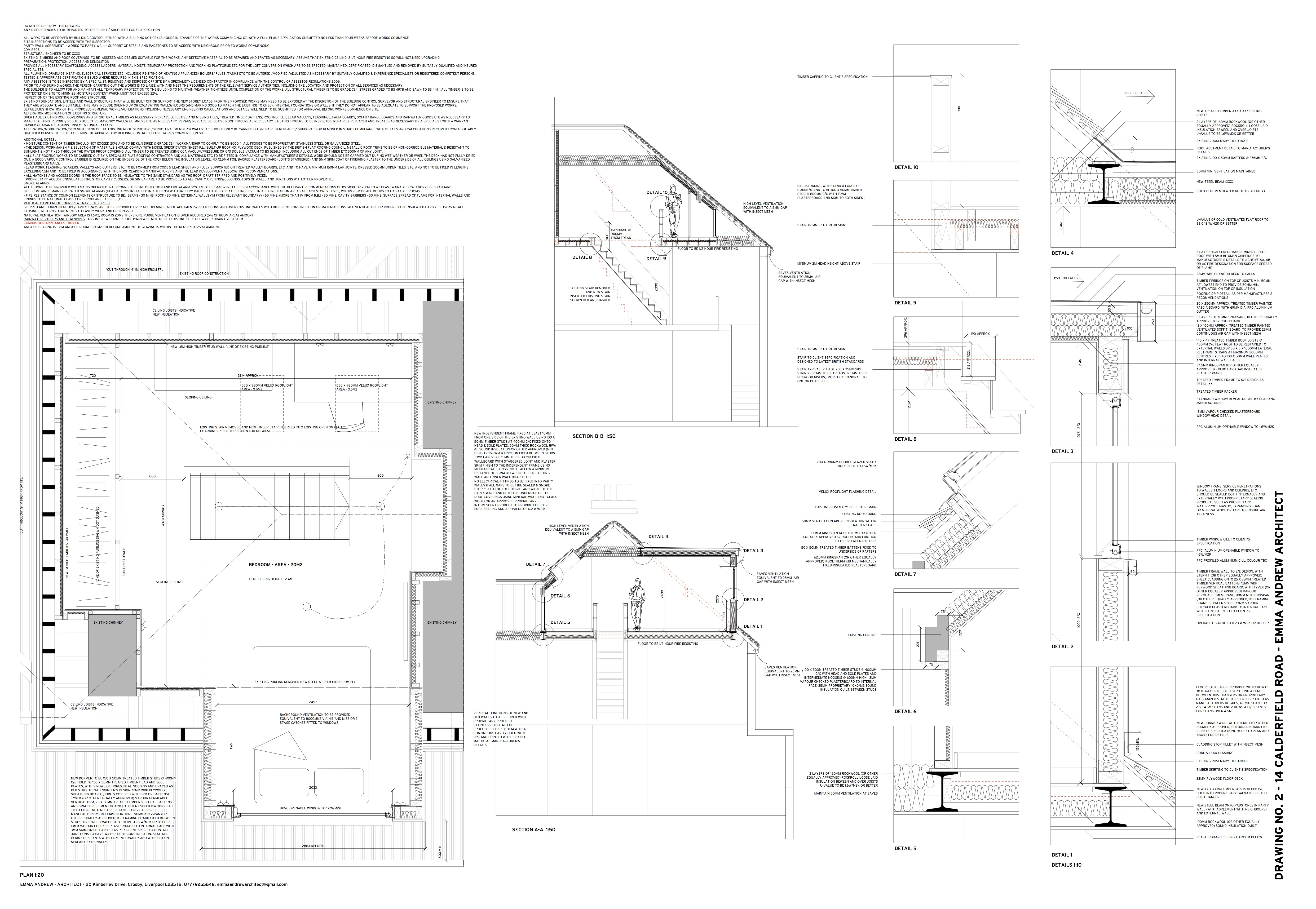 141.02 Plan Sections and Details
