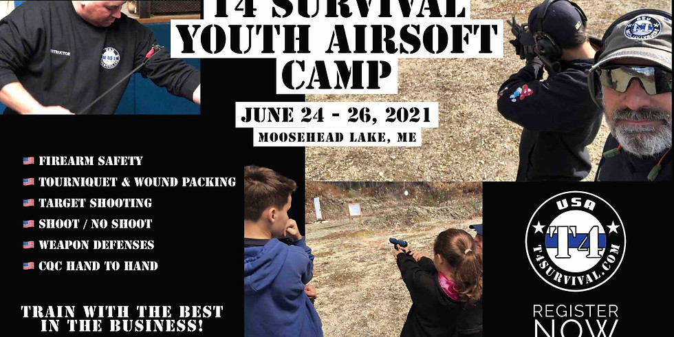 T4 Survival Youth Airsoft Camp