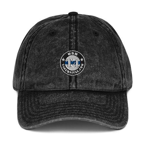 T4 Survival Vintage Cotton Twill Cap