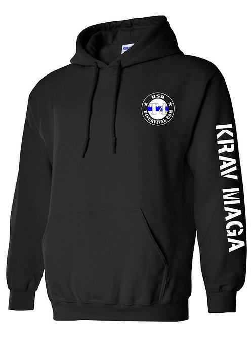 T4 Survival Krav Maga Hooded Sweatshirt