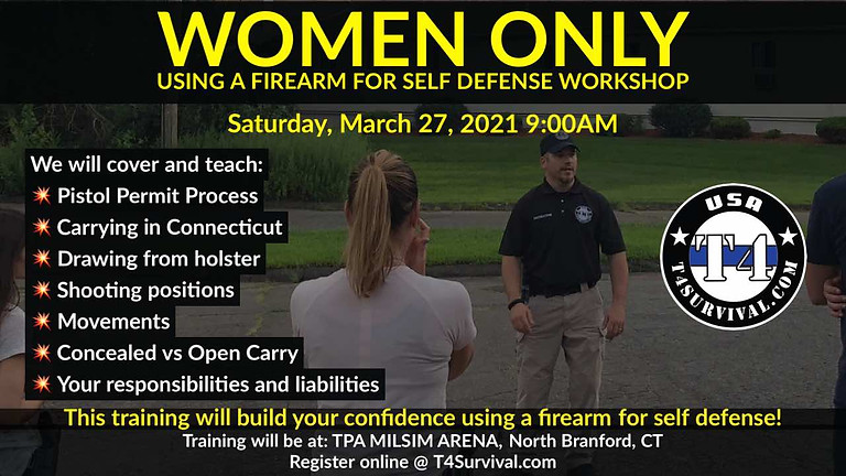 Using a Firearm for Self Defense in Connecticut - The Basics