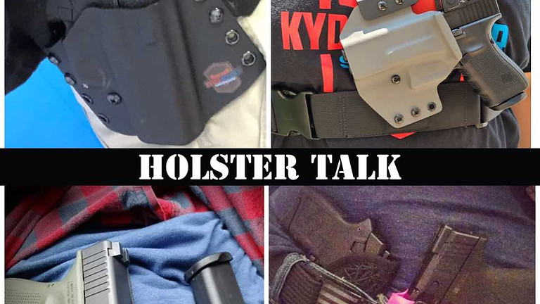 Holster Talk = Holster Types, Options and How To Use!