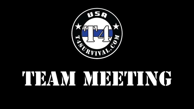 T4 Survival Team Meeting