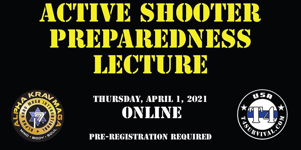 Active Shooter Preparedness Lecture