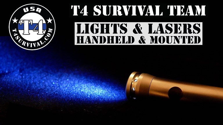 Lights & Lasers Handheld and Mounted on your Firearm