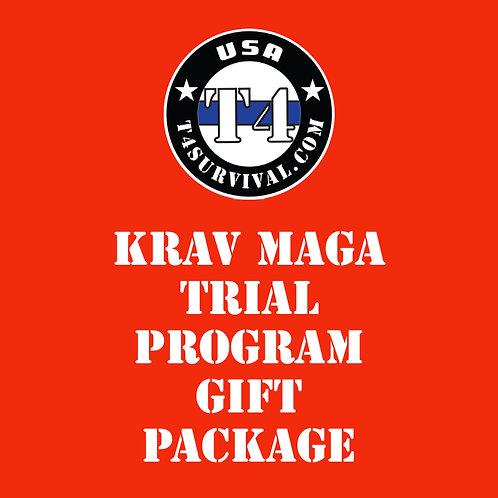 Krav Maga Trial Program Gift Package