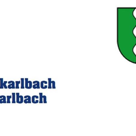 Gemeinde Großkarlbach und TuS Großkarlbach informieren
