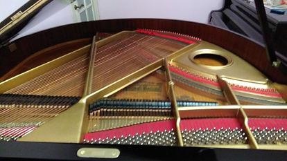 Чугунная рамакабинетногорояляSeiler 150  Панцирная рама немецкого рояля Зайлер