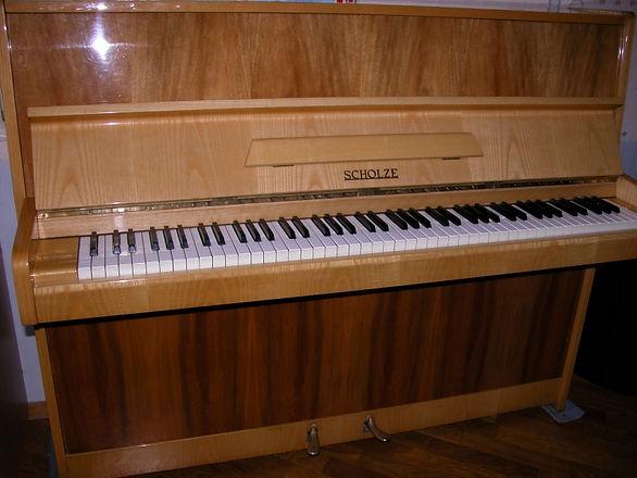 Пианино Scholze 115 (пианино фабрики Петроф Шольце 115) 1979 год, светлый орех, полированное, полиэфирный лак, Производитель - фабрика Petrof. Цвет комбинированный Превосходное звучание, б/у, мало эксплуатировалось Идеальное состояние. Редкая модель. Эксклюзивное предложение