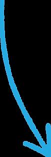 Blue Crayon Arrow