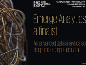 Emerge has been selected as a finalist in the Southern African Global Fintech Hackcelerator programm