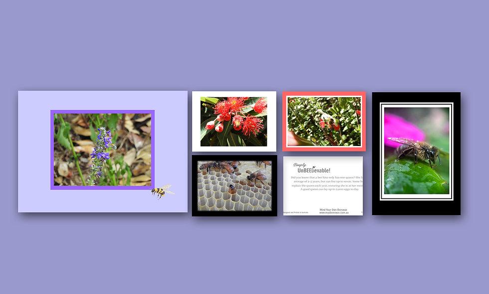 Bee Design Card Set