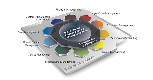 ERP enterprise performance management