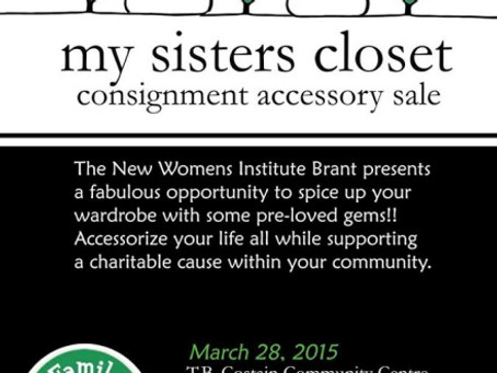 Fashion Accessories: New Branch March 28 Fundraiser