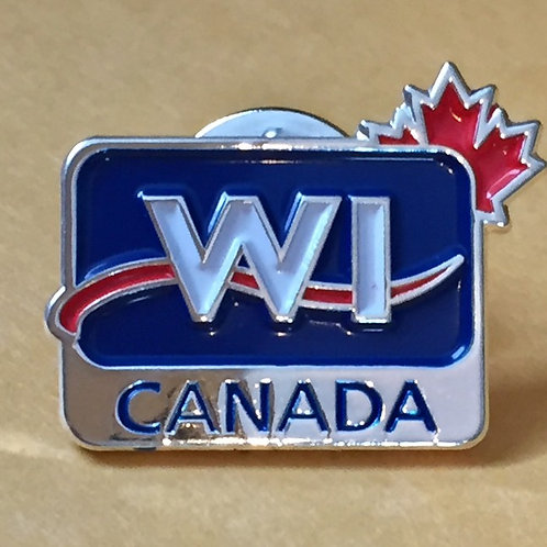WI Canada Pin