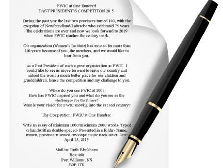 FWIC at One Hundred: Past President Essay Writing Competition