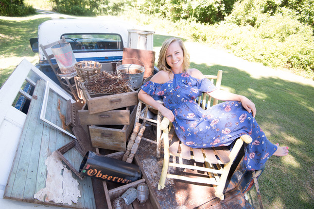 Photo Shoot Day: Just call me Granny from The Beverly Hillbillies.