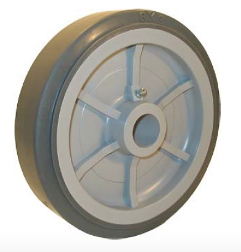 Thermoplastic Rubber on Polyolefin Wheel