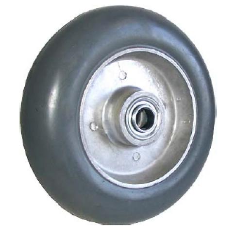 Balloon Cushion Rubber on Aluminum Wheel