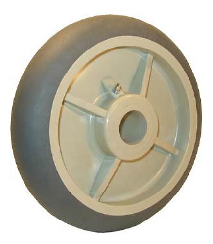 Round Tread Thermoplastic Rubber Wheel