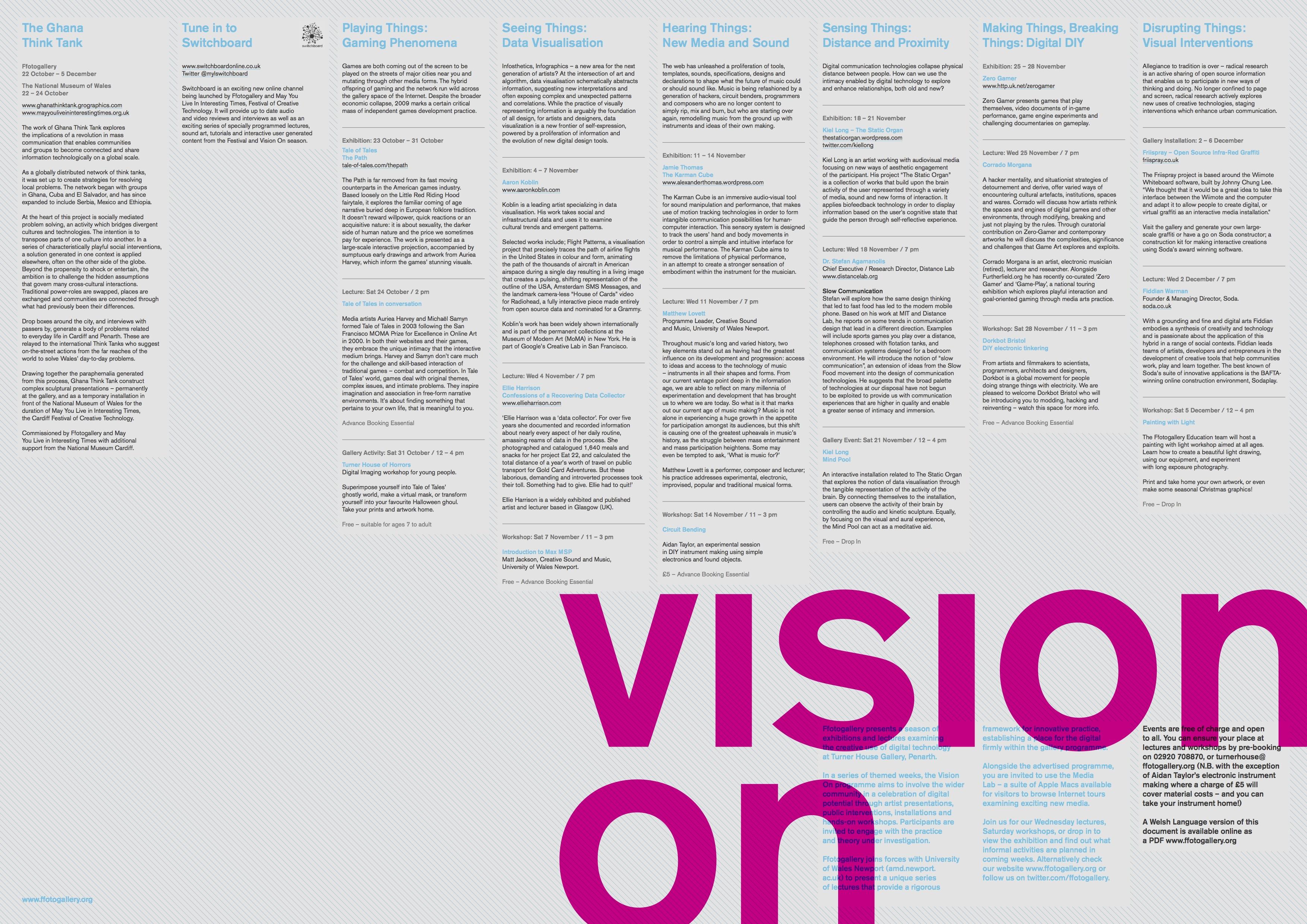 Ffotogallery Vision On English 2