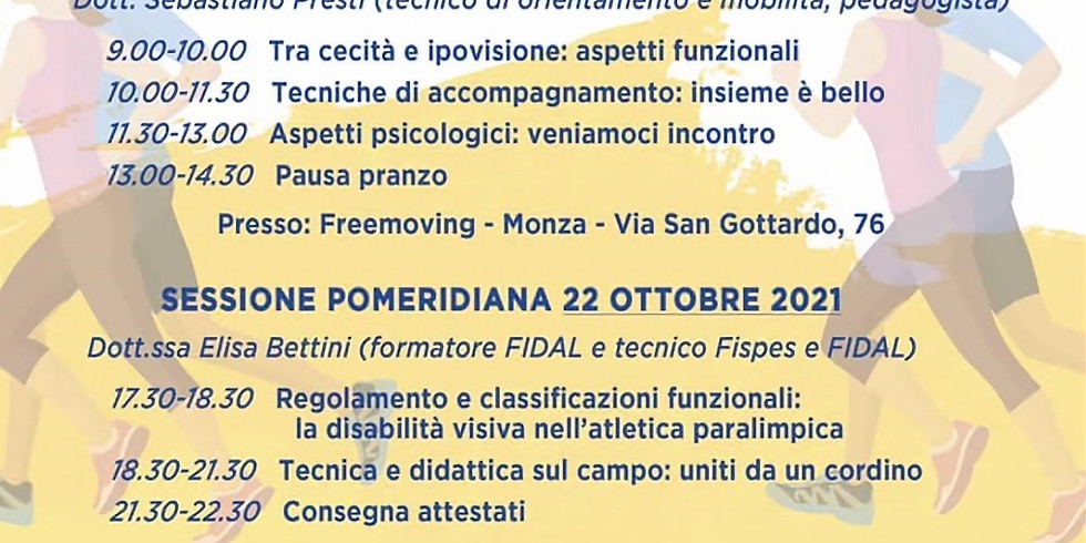 """Corso """"Guide in Pista"""""""