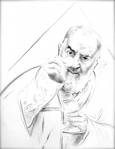 St Padre Pio: Eucharist