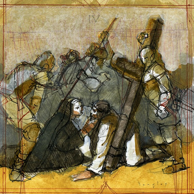 IV Station of the Cross
