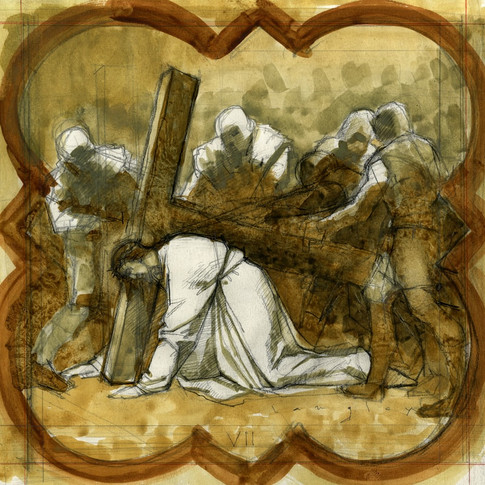 VII Station of the Cross