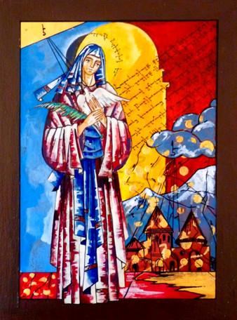 St. Hripsimè (Armenian Virgin Martyr in 301)