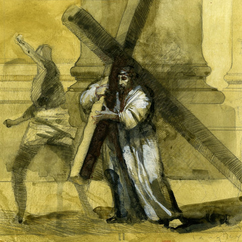 II Station of the Cross