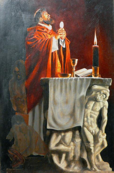 The First Mass of Saint John of Matha