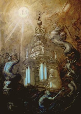 The Triumph of the Church over Satan