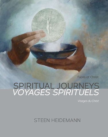 The cover of a book titled Spiritual Journeys