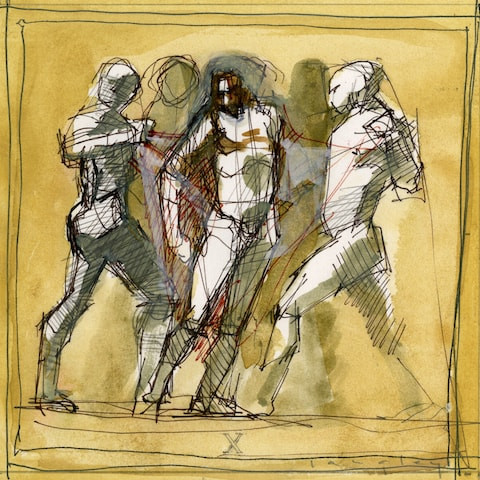 X Station of the Cross