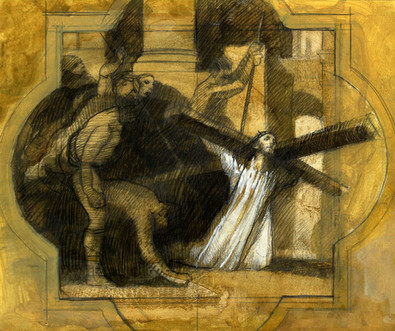 III Station of the Cross