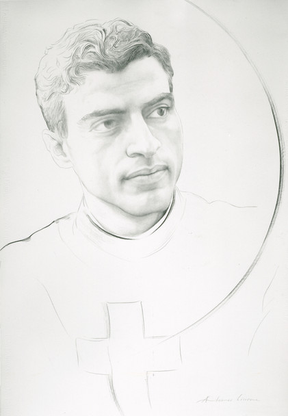 Seminarian Nicola D'Onofrio Just Before His Death Aged 21 in 1964