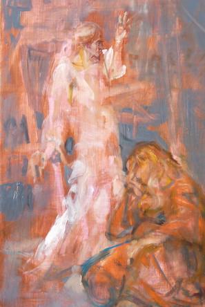 Christ and St Madeleine