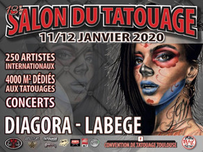 Salon du tatouage Toulouse 2020