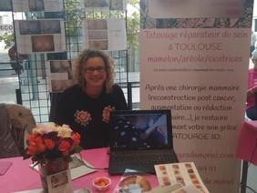 Octobre rose clinique Occitanie Muret