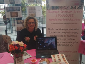 Octobre rose clinique Occitanie Muret
