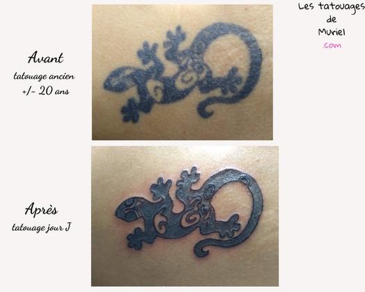 Coup de jeune tatouage ancien les tatoua