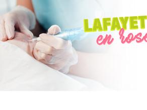 Les pharmacies Lafayette en rose avec Les tatouages de Muriel
