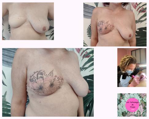 Les tatouages de Muriel Saint-Lys tatoua