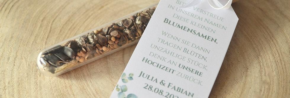 Gastgeschenke - Blumensamen