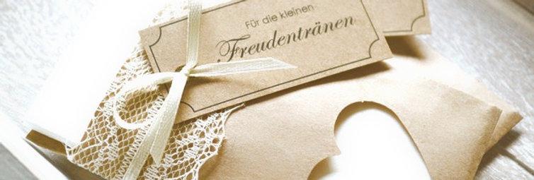 Freudentränen-Taschentücher (Modell No. 4)