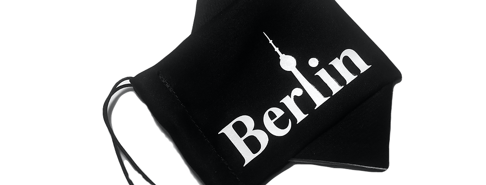 Mundschutz mit Aufdruck - Berlin