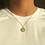 Thumbnail: Teal Gem Charm Necklace