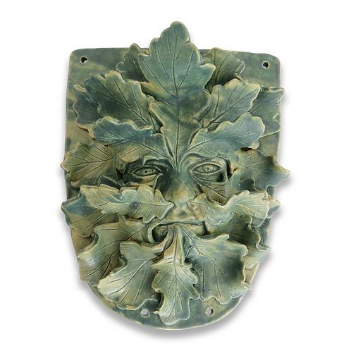 Green Man (Stoneware)